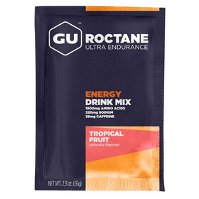GU Energy Roctane Ultra Endurance Energy Drink - Nutrición deportiva - Tropical Fruit 65g